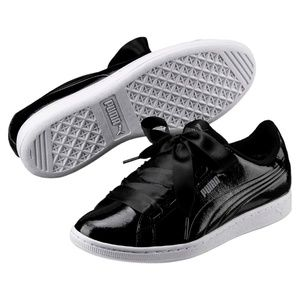 PUMA Vikky Ribbon Patent Women's Sneakers Shoes